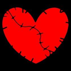 heartbreak shirt black...