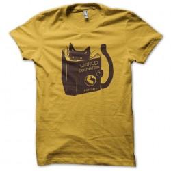 world domination cat yellow...