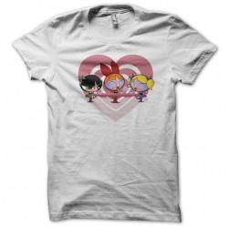 Power Pop Girls t-shirt white sublimation