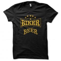 t-shirt biker beer black...