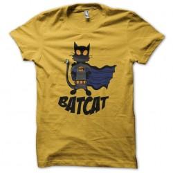 Bat Cat shirt yellow...