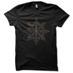 Chaos black sublimation symbol t-shirt