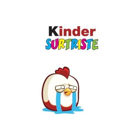 T-shirt Kinder Surprise parody Surtriste white sublimation