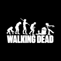 evolution walking tee shirt dead dead black sublimation