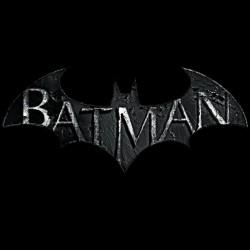 batman logo t-shirt black sublimation