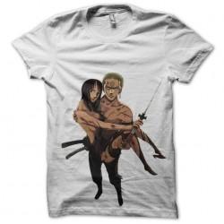 tee shirt Zoro and robin  sublimation