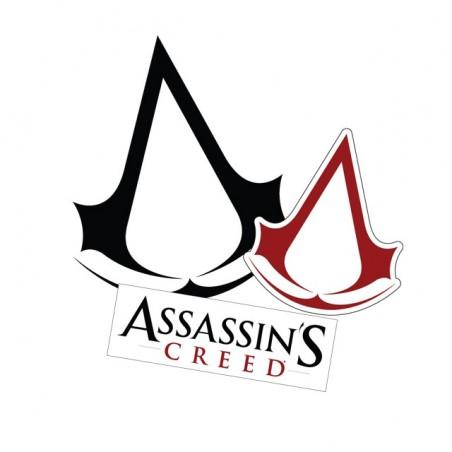 Assassins Creed B & R white sublimation t-shirt