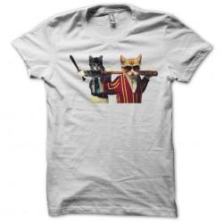 tee shirt chat bagarreurs  sublimation