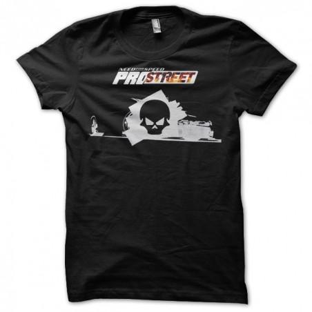 NFS Prostreet Skull t-shirt black sublimation