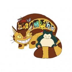 tee shirt pokemon la troupe...