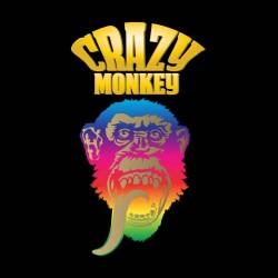 shirt Crazy Monkey black sublimation