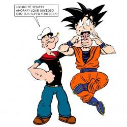 shirt Popeye VS sangoku...