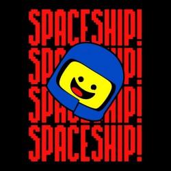 tee shirt Space ship lego  sublimation