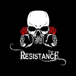 T-shirt the Resistance black sublimation