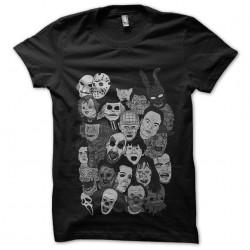 tee shirt personnages de...