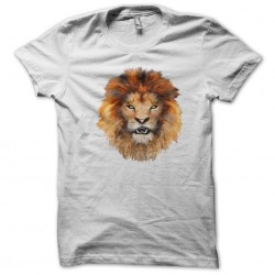 tee shirt lion head white...