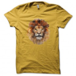 t-shirt of lion yellow...