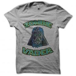 t-shirt zombie vader gray...