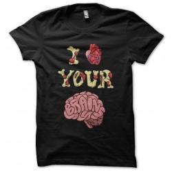 tee shirt I love your brain...