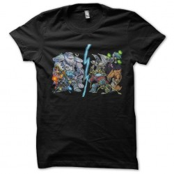 tee shirt Dota personnages...