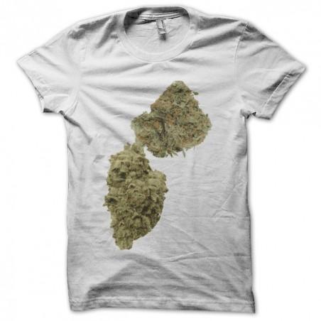 Cannabis white sublimation t-shirt