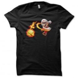 t-shirt mario black attack...