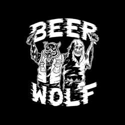 tee shirt beer wolf...