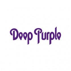 tee shirt deep purple white...