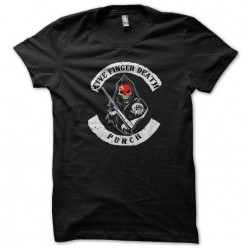 five finger death tee-shirt...