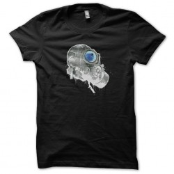 T-shirt art black sublimation