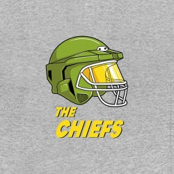tee shirt The Chiefs gris...