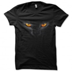 tee shirt black cat look...