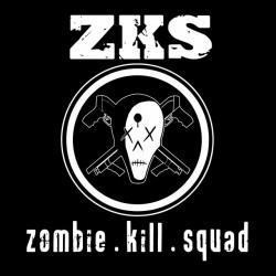 t-shirt zks Zombie kill squad black sublimation