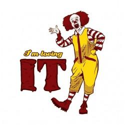 t-shirt Im loving It parody...