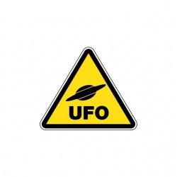 Tee shirt Panneau Danger UFO  sublimation