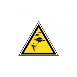 T-shirt Panel Danger UFO...