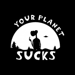 tee shirt ET your planet...
