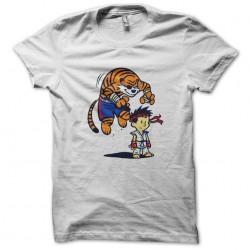 Ryu shirt and hobbes white sublimation