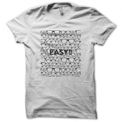 Easy white sublimation t-shirt