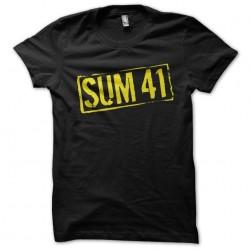 Sum 41 black sublimation...
