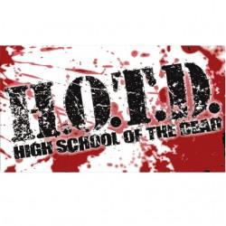 Tee shirt H.O.T.D L'université des morts  sublimation