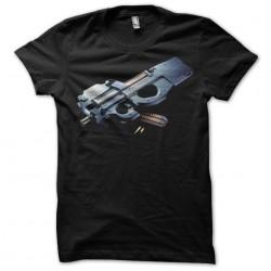 Weapon T-shirt GUN01 black...