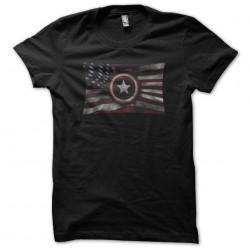 Captain America flag black...