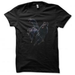 tee shirt Doberman zombie...