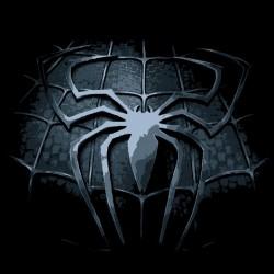 Tee shirt logo spiderman araignée vieillit en  sublimation