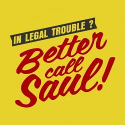 Tee Shirt Better Call Saul  sublimation