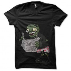 Zombie t-shirt and black...