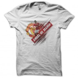 Angel di maria white sublimation t-shirt
