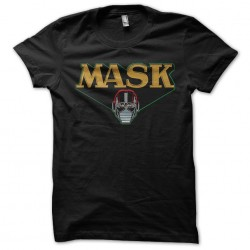Mask shirt black sublimation