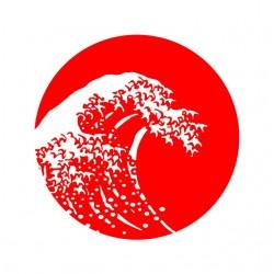 Japan tsunami white...